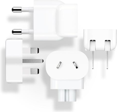 Adapter Reis Set - geschikt voor Apple - Wit