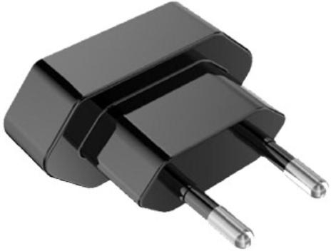 Plug EU voor BlackBerry RC-1500 Reislader - Origineel - Zwart