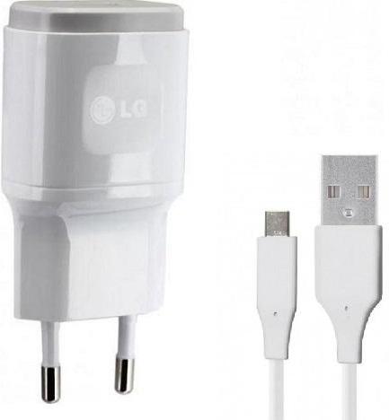 LG USB-C 1.8A Snellader + Kabel Wit