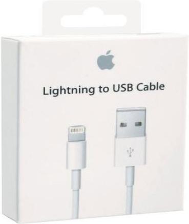 apple iphone 6 lightning kabel 50 cm origineel wit. Black Bedroom Furniture Sets. Home Design Ideas