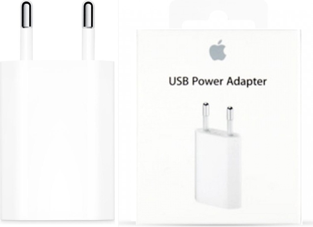 Apple 5W Adapter - Origineel Retailverpakking