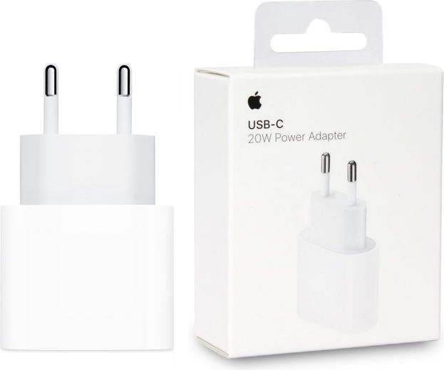 Apple iPhone 12 Pro Max USB-C Power Adapter - Origineel Retailverpakking - 20W