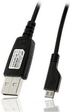Datakabel Samsung Galaxy A10 Micro-USB 80 CM - Origineel - Zwart