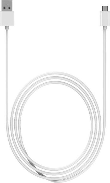 Micro-USB kabel voor HTC - Wit - 3 Meter