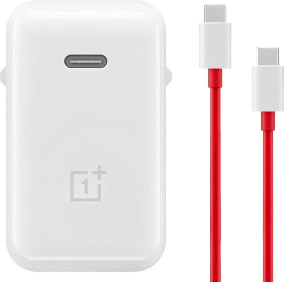 OnePlus 8T Warp Charge 65 Oplader - USB-C - Origineel - 1 Meter