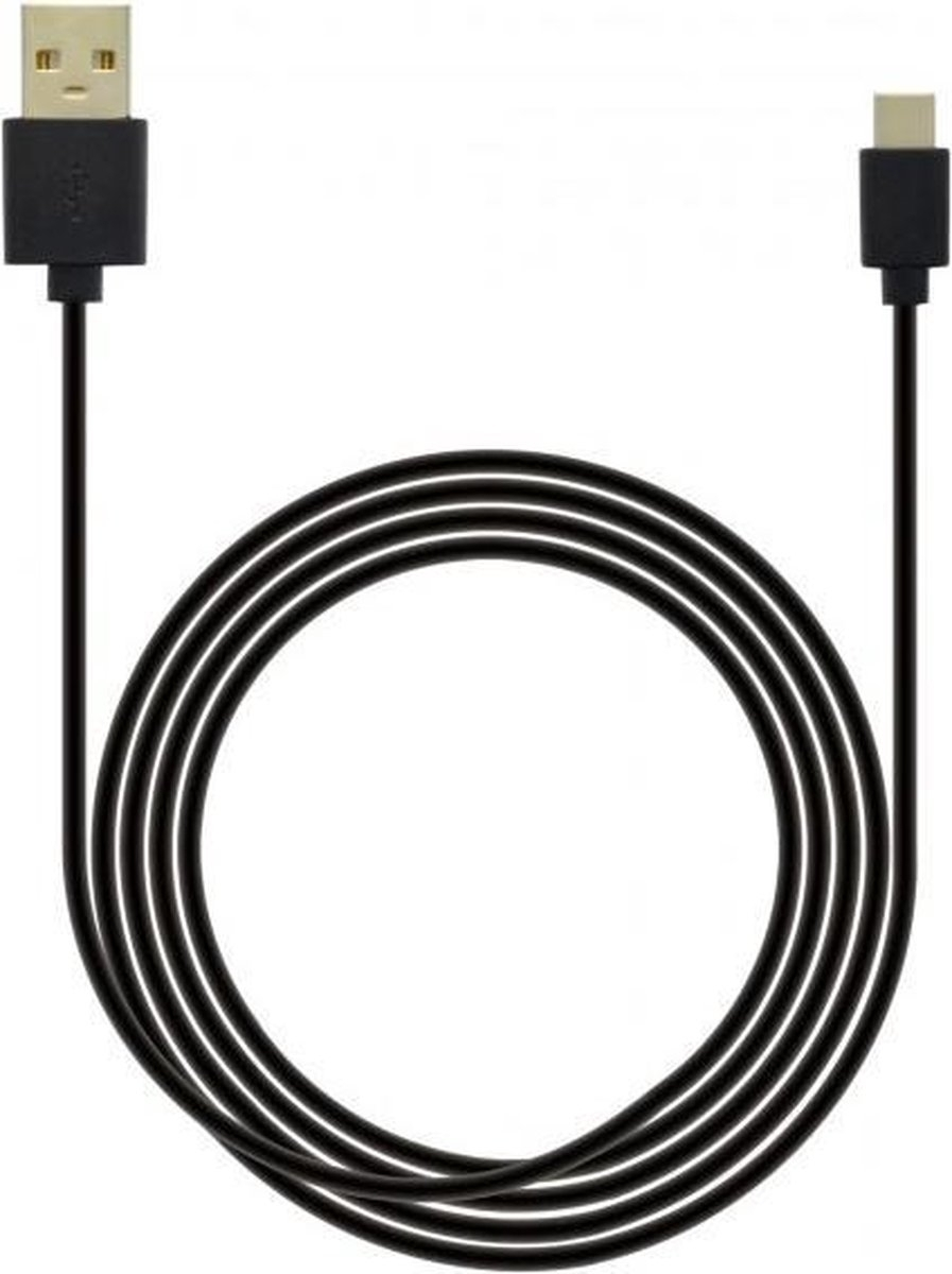 USB-C kabel geschikt voor Crosscall - 3 Meter - Zwart