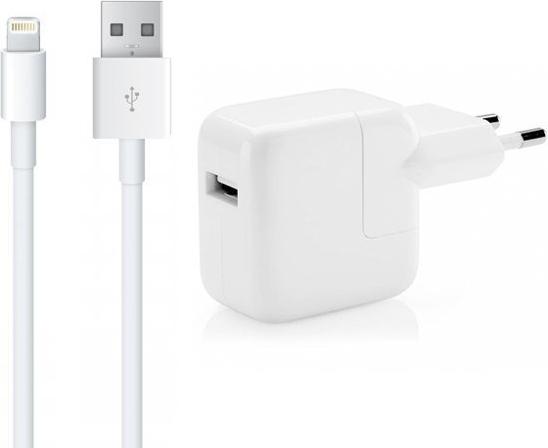 USB Oplader geschikt voor Apple iPhone 12 Mini - 12 Watt - 1 Meter